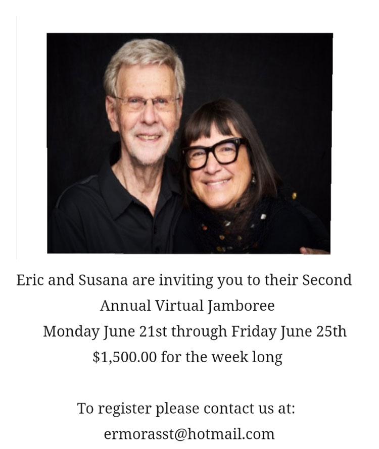 Eric Morris Second Virtual Jamboree June 21st